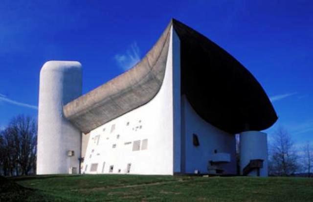 Chapelle-Le-Corbusier-Ronchamp